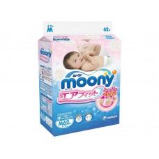 Moony подгузники M (6-11 кг) 62 шт