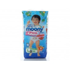 Moony, трусики для мальчиков L (9-14 кг), 44 шт