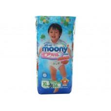 Moony, трусики для мальчиков BIG (12-17 кг), 38 шт