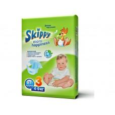 Skippy More Happiness подгузники для детей, размер M (4-9 кг) 81 шт