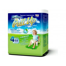 Skippy Pull Up трусики-подгузники для детей, размер L (9-14 кг) 22 шт