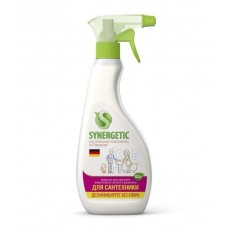 Synergetic Средство для чистки сантехники, ванн, раковин, душевых кабин, спрей, 500 мл